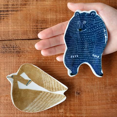 「倉敷意匠」と「katakata」の豆皿
