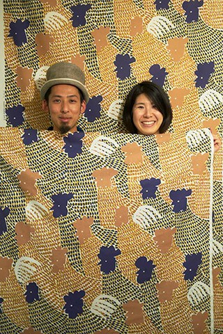 kata kata(カタカタ)の松永武さんと高井知絵さんご夫婦