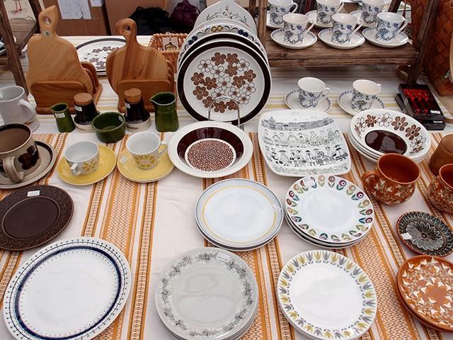 北欧の可愛らしいお皿