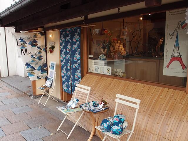 京都・寺町通りにあるプティ・タ・プティの実店舗
