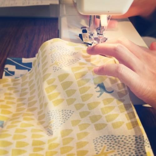 nocogou(ノコゴウ)ミシンで縫製