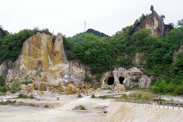有田焼の土